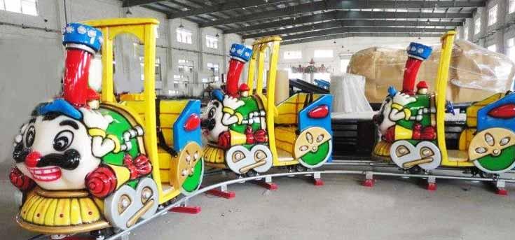 Аттракцион паровозик на рельсах купить Казакстан