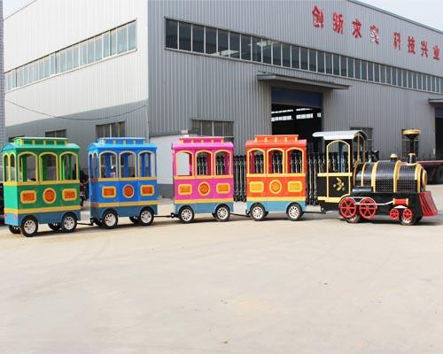 Купить аттракцион паровозик в Китае