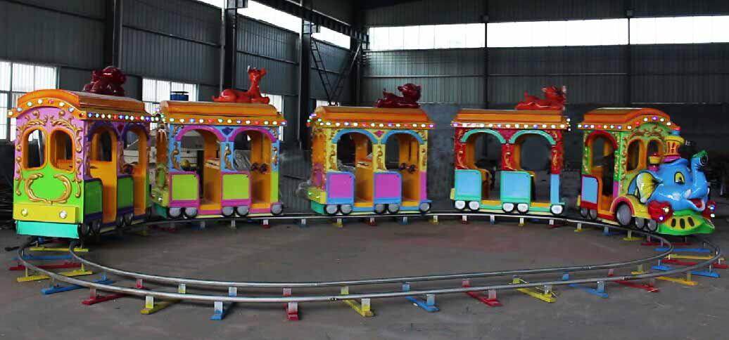 Аттракцион детский паровозик для парка
