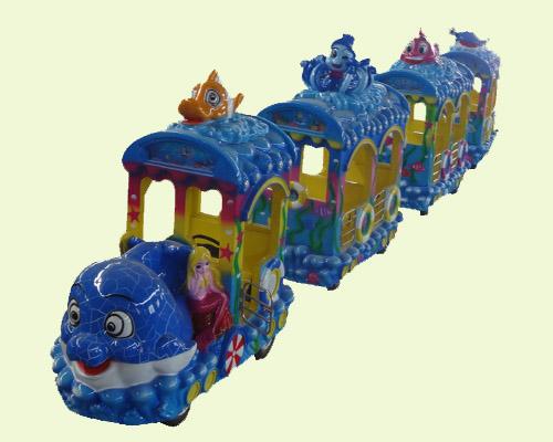 Новый аттракцион паровозик безрельсовый для парка