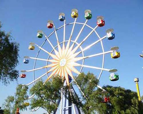 Купить колесо обозрения для парка развлечения в Казахстане