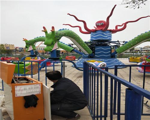 Купить аттракцион осьминог в Казахстане