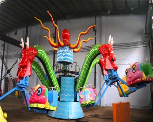 Купить детский аттракцион осьминог из Китая