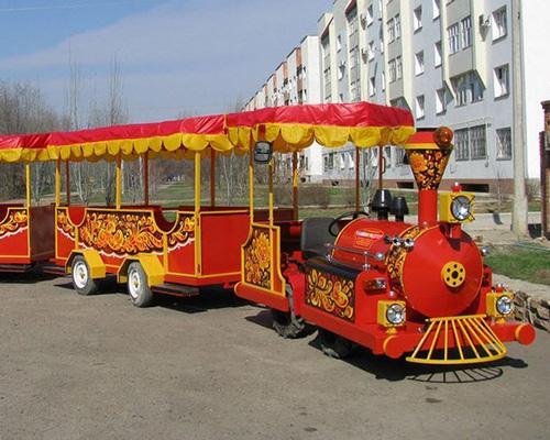 купить аттракцион поезд для парка