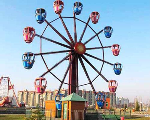 Купить аттракцион детское колесо обозрения для площадки