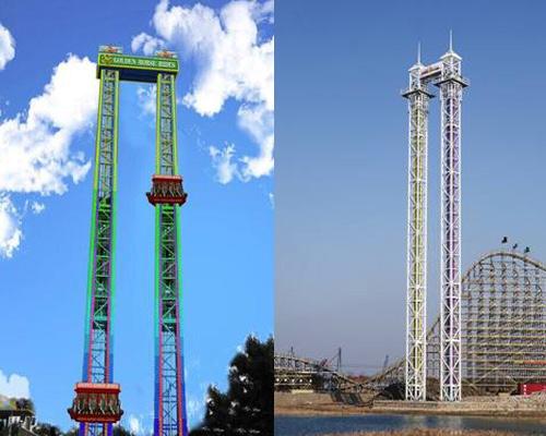 Купить аттракцион башня свободного падения из Китая