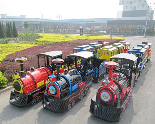 Купить аттракцион паровозик из Китая