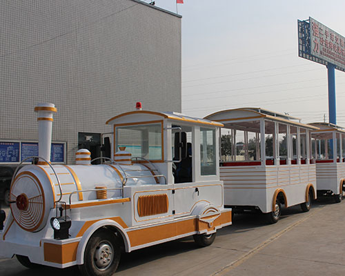 Купить аттракцион безрельсовый паровозик в Китае