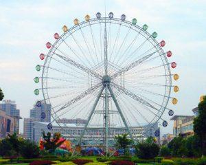 Купить аттракцион колесо обозрения из Китая