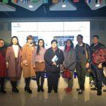Индонезия клиенты посетят в компанию Beston в Китае