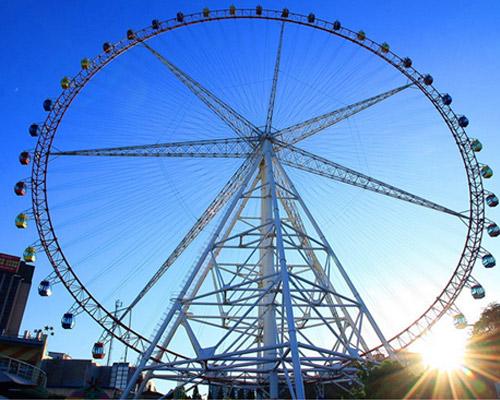Купить аттракцион чертово колесо для парка