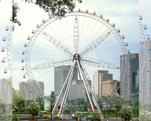 Купить аттракцион чертово колесо цена недорогая из Китая