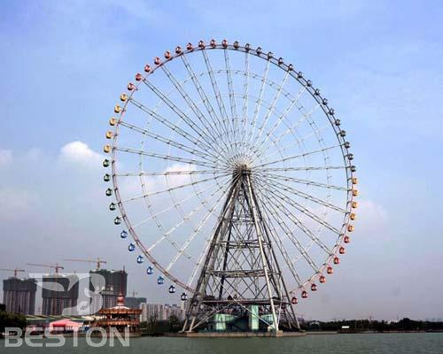 Купить аттракцион чертово колесо в Китае