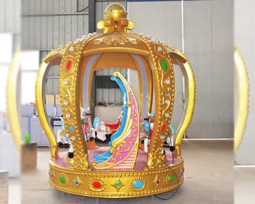 Купить аттракцион карусель Корона для детей