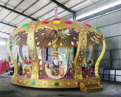 Разумная цена аттракцион карусель Корона в Китае