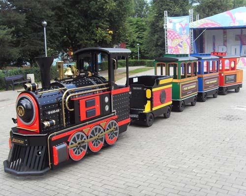 Купить поезд аттракцион на колесах