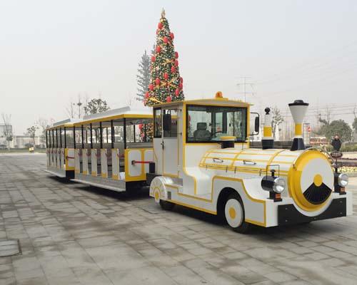 Купить аттракцион паровозик на колесах в Китае