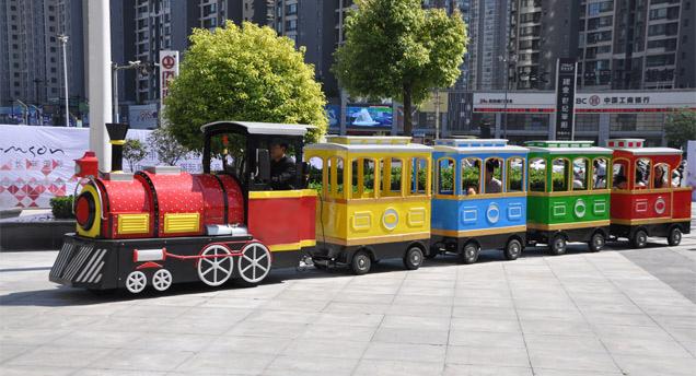 Купить Аттракцион безрельсовый поезд для парка