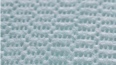 3D Perforated Nonwoven Fabric
